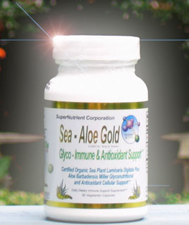 Big picture of the Sea Aloe Gold Bottle